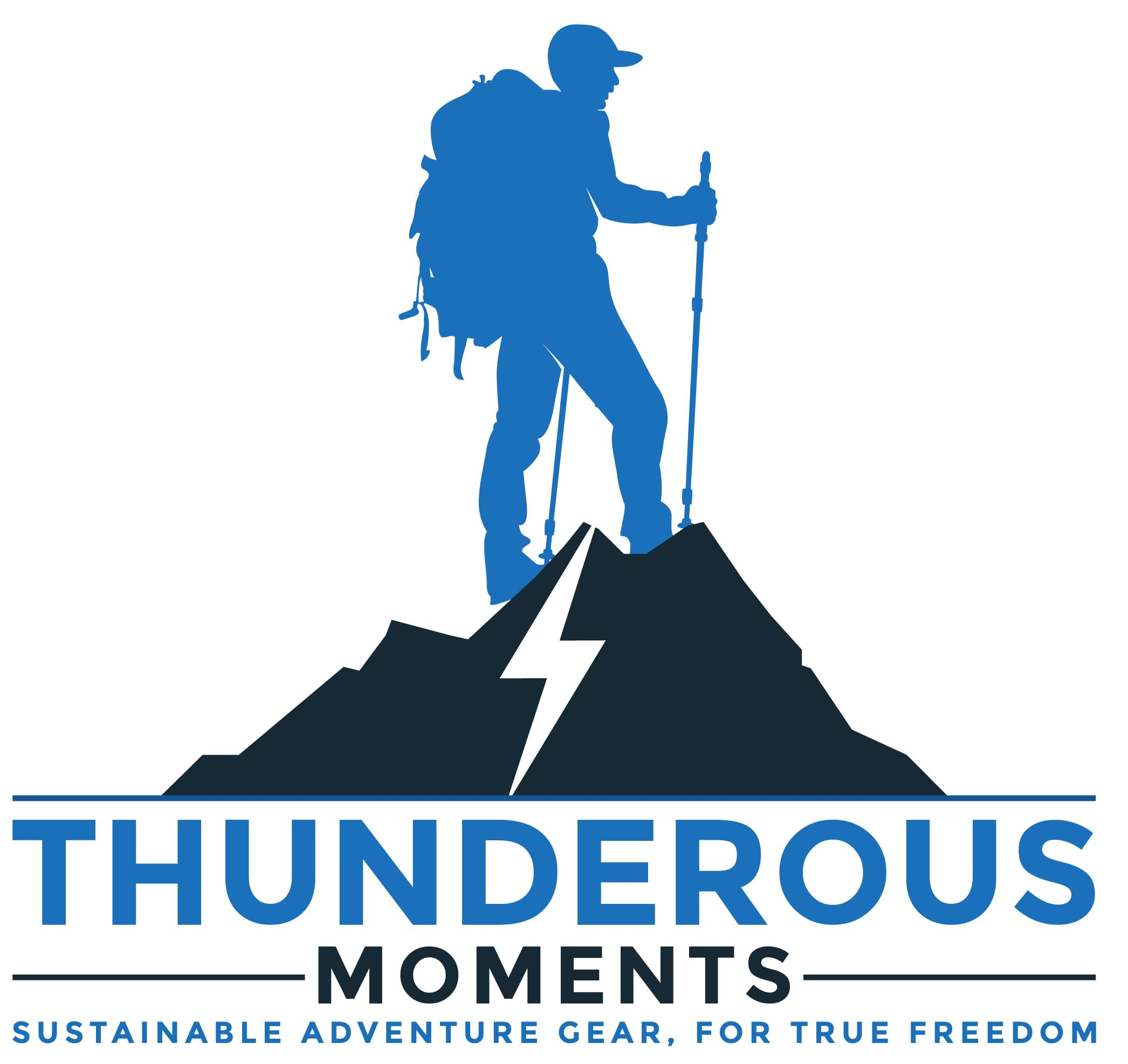 Thunderous Moments Camping Quilt Legendary Down Hiking Quilt so You can go Farther Handmade in North Carolina Ultra Light